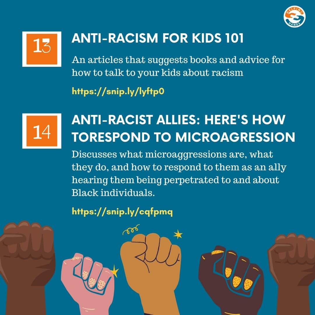 Mental Health & Anti Racism Guide Page 20