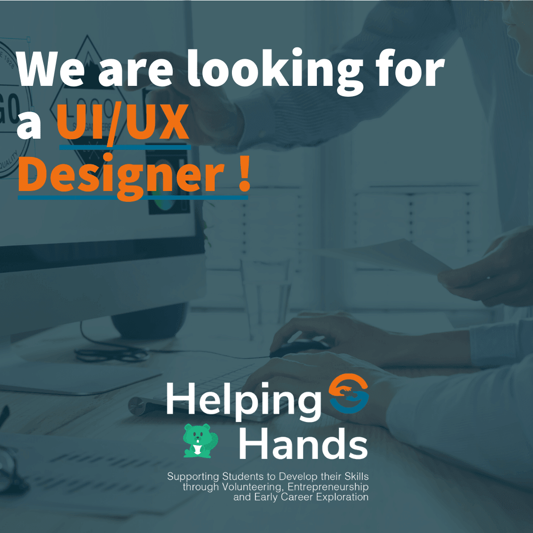Volunteer Advertisement for UI/UX Designer