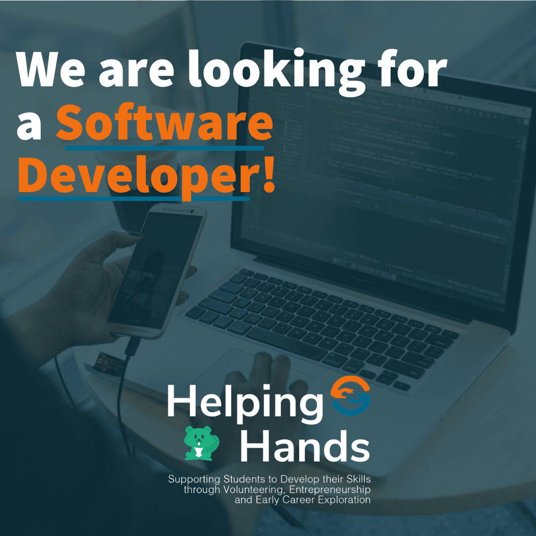 Volunteer Advertisement for Software Developer
