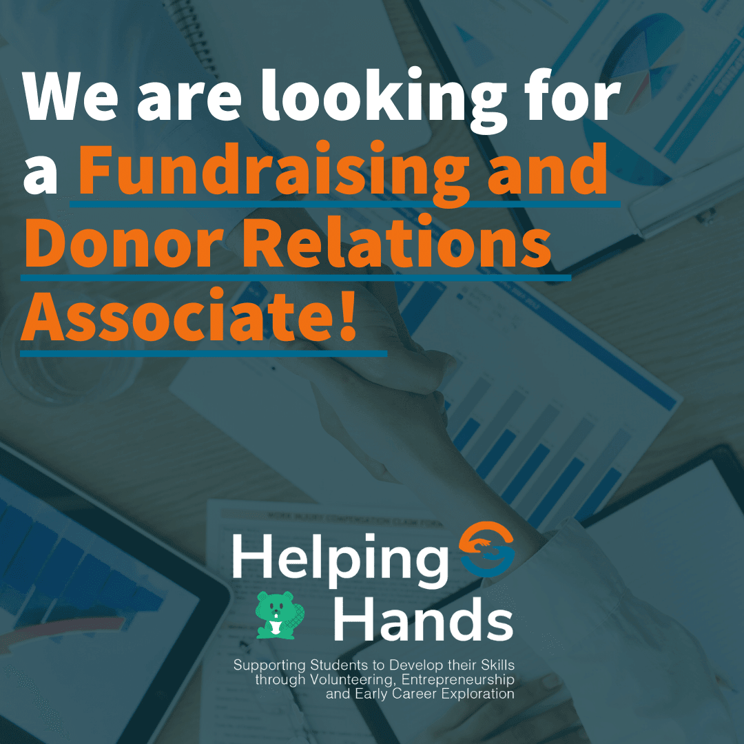 Volunteer Advertisement for Fundraiser and Donor Relations Associate