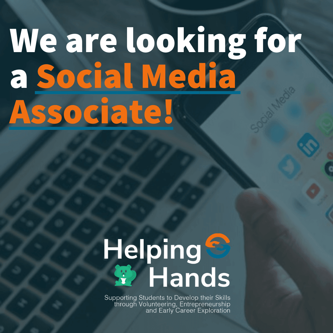 Volunteer Advertisement for Social Media Associate